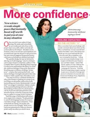 Power Posing for Women Gives More Confidence