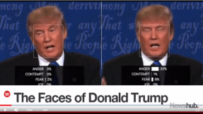 Body talk: Donald Trump and his many faces