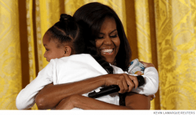 How Michelle Obama Became Hugger In Chief