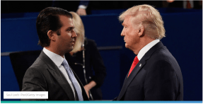 President Trump Is Actually Very Proud Of Trump Jr., Body Language Experts Say
