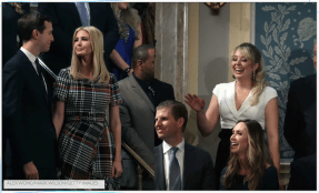 Ivanka & Tiffany Trump's Body Language At The State Of The Union Shows They Had Very Different Nights