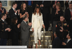 Melania Trump's Body Language At The State Of The Union Was All For Show, Expert Says