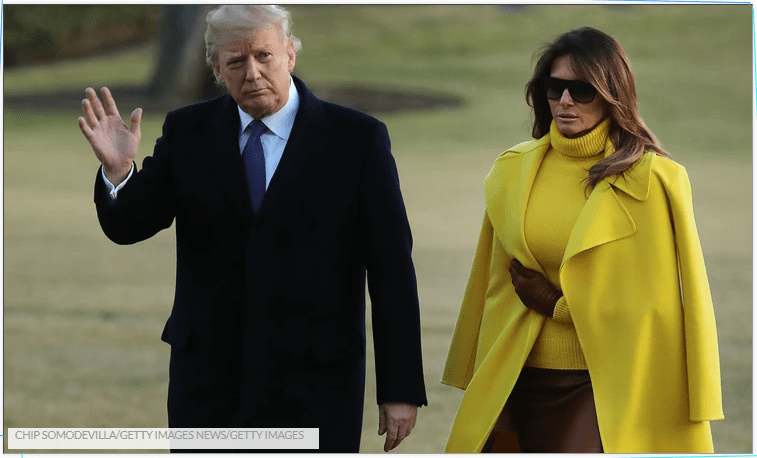 This Video Of Donald Trump Trying To Hold Melania's Hand & Failing Is So Awkward