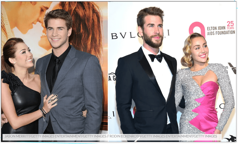 Miley Cyrus & Liam Hemsworth's Body Language Through The Years Shows Their Bond Is So Strong